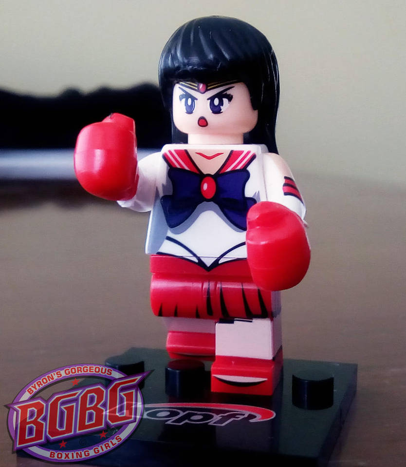 Petite boxing girl 4 by ByronUgalde