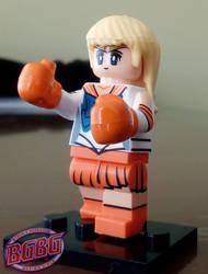 Petite boxing girl 6 by ByronUgalde