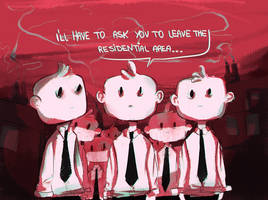 and give us your tie. by panicatomizer