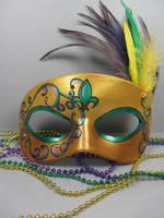 Mardi Gras Masquerade mask 2 by maskedzone