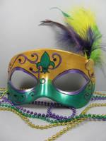 Mardi Gras Masquerade mask 1 by maskedzone