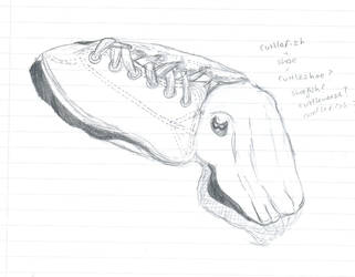 Cuttlefish sketch by Octopus-child