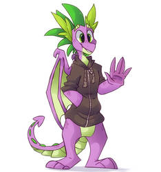 Spike by HiccupsDoesArt