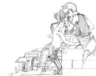Cyborg Fanart for Asuka by Aiteled