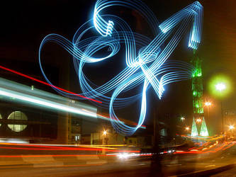 light graffiti III by roledeluz