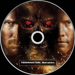 Terminator Salvation Disc Labe by RoadWarrior00