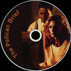 The Pelican Brief Disc Label by RoadWarrior00