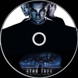 Star Trek Disc Label by RoadWarrior00