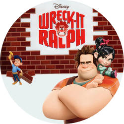 Wreck it Ralph Disc Label by RoadWarrior00