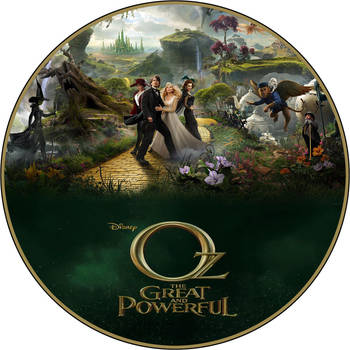 Oz DVD Label by RoadWarrior00