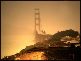 golden gate bridge by kcsnyder
