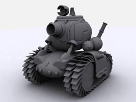 Metal Slug Tank by klesik