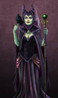 Maleficent by Spi-ritual-ity