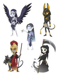 Little Death Gods by Evelar