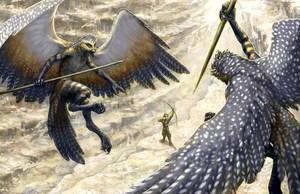 Birdmen by Evelar