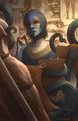 Monster Boys - Octopus by Evelar