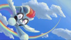 ride the rainbow by TidensBarn