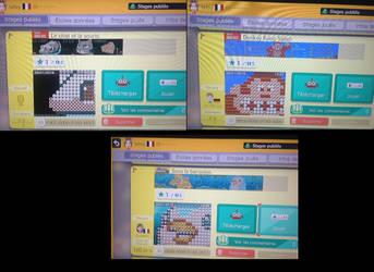 Super Mario Maker - Pixel Art levels by ReelDeviant