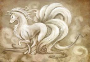 Ninetales by Sleepwalks