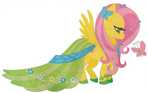 Butterfly for Fluttershy by Sleepwalks