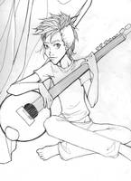 KH-I play my Sitar by penguinfaery