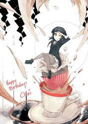 Chai's Birthday hohoho by wickedalucard