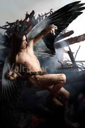 The fallen angel by valtassor