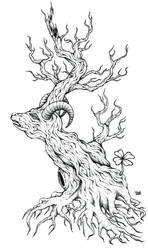 Gnarled Woods by OblskOne