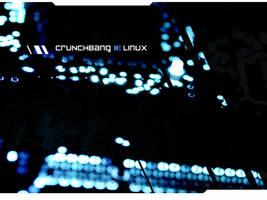 CRUNCHbang:WALL by xapU7