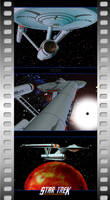 Star Trek Reanimated - Triptych by Ptrope