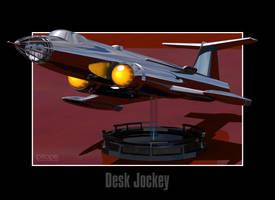 Desk Jockey by Ptrope