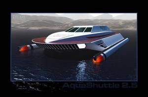 AquaShuttle 2.5 - WIP002 by Ptrope