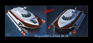 AquaShuttle 2.5 - WIP003 by Ptrope