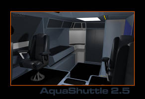 AquaShuttle - WIP014 - The Galley Left Behind by Ptrope