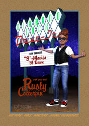 Rusty Cotterpin at the Diamond Tuck Drive-In by Ptrope