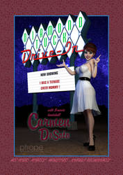 Carmen DeSoto at the Diamond Tuck Drive-in by Ptrope