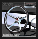 Steering Tyre - Design Concept by Ptrope
