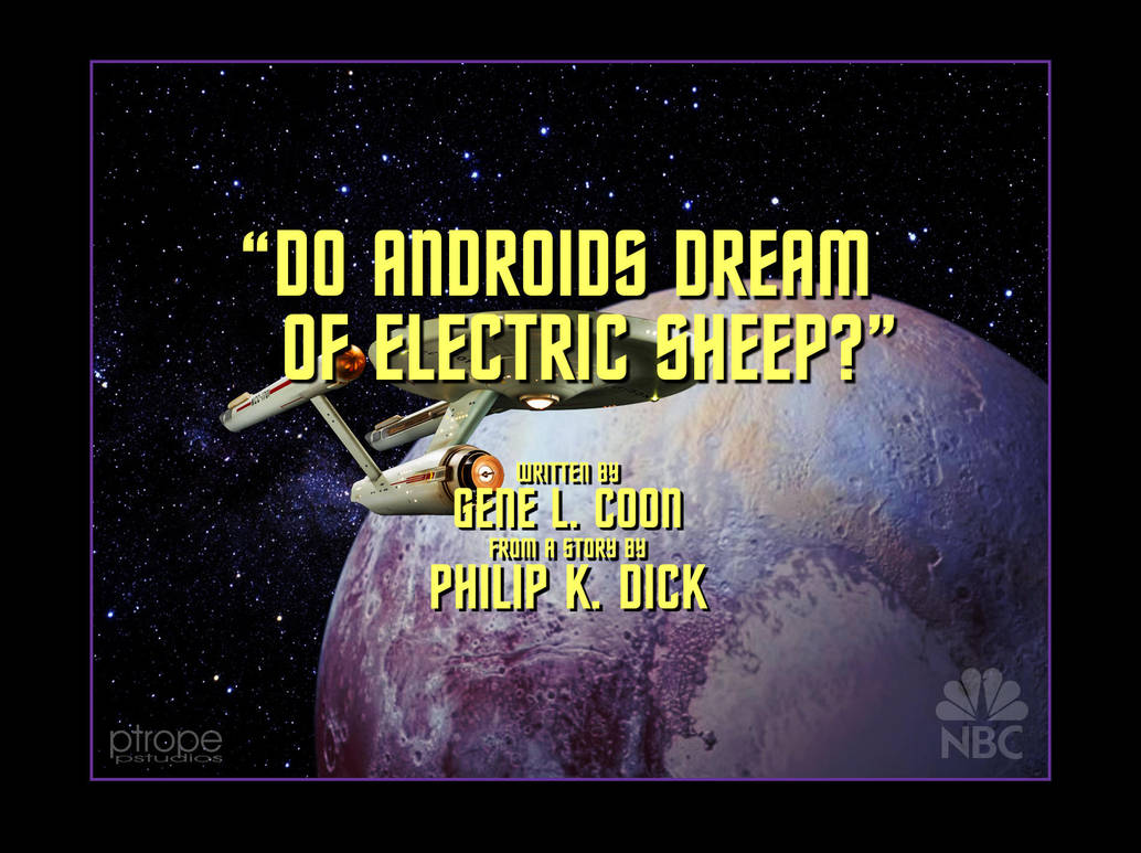 Do Androids Dream of Analog TV? by Ptrope