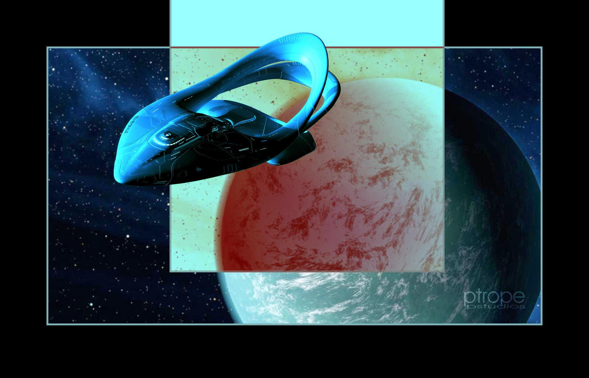 Orville Leaves Kepler-22b by Ptrope