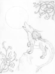 Kiriban Sketch by LadyTsunade