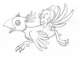 ChocoMog Sketch 1.0 by LadyTsunade
