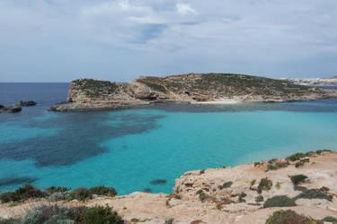 blue lake north malta by chloe-tsundere