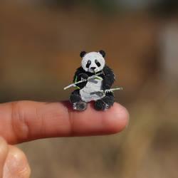 Giant Panda - Paper cut art by NVillustration