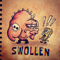 Day 17 - Swollen by MintyFreshThoughts
