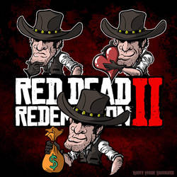Red Dead Redemption 2 - Commission  by MintyFreshThoughts