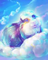 Kuku the Cloud Guinea-Pig by Fany001