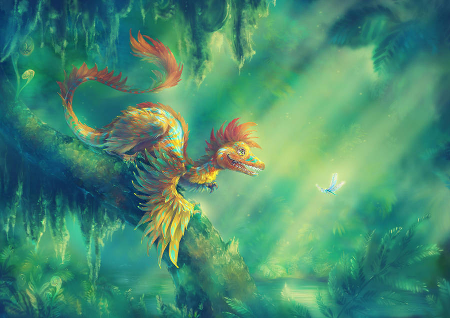 Microraptor by Fany001