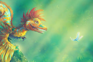 Microraptor - detail by Fany001