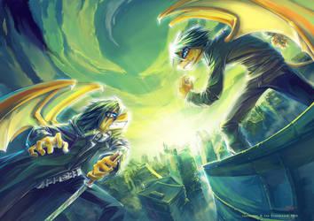 Eternal Fight by Fany001