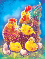 Chicken Family vs2 by Fany001